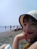 今日も元気に海だ〜