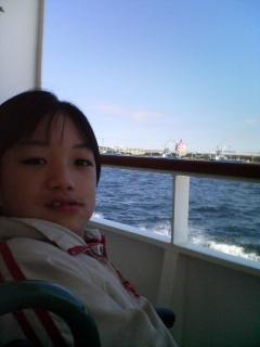 はまどり乗船中