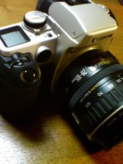 古いカメラをだしてみた
