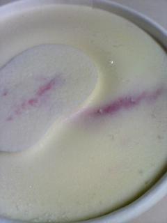 クリームチーズラズベリー
