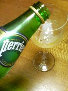 ワイングラスで響&ペリエ