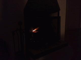 火のお世話