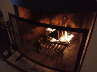 火が入りました