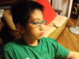 メガネの検査